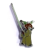 Disney Mystery Pin and Card - Star Wars Muppets - Rizzo Yoda