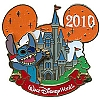 Disney Characters With Cinderella Castle Pin - Stitch