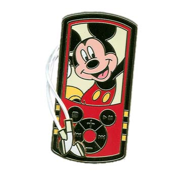 Disney Mickey Pin - Mp3 Player