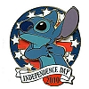 Disney Independence Day Pin - 2010 Stitch