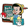 Disney Back to School Pin - 2010 - Pinocchio
