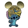 Disney Mickey Mouse Icon w/ Character Pin - Stitch