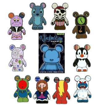 Your Wdw Store Disney Mystery Pin Set Vinylmation Park