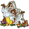 Disney Halloween Pin - 2010 - Chip and Dale
