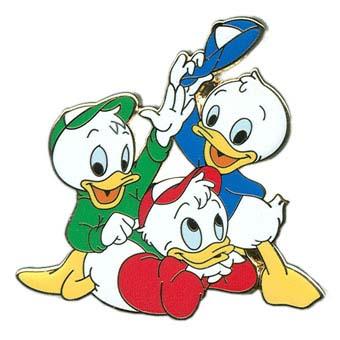 Your WDW Store - Disney Nephews Pin - Huey, Dewey and Louie