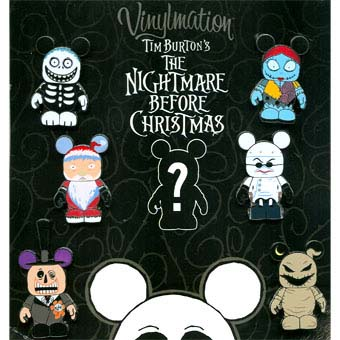 Disney Mystery Pin Set - vinylmation Nightmare Before Christmas