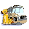 Disney Mystery Pin - Attraction Vehicles - Simba Kilmanjaro Safaris