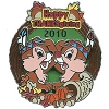 Disney Happy Thanksgiving Pin - 2010 Chip And Dale