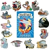 Disney Mystery Pin Set - Attraction Ride Vehicles - COMPLETE