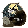 Disney Mystery Pin - Attraction Vehicles - Jack Skellington CHASER