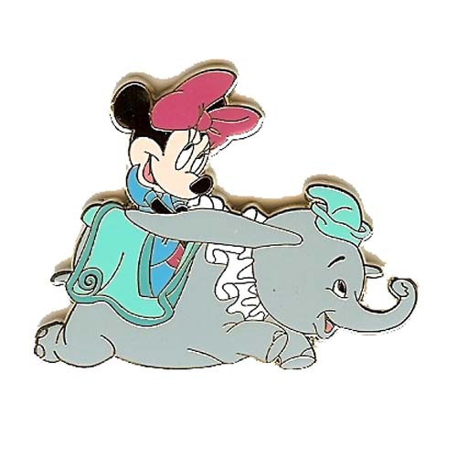 Disney Mystery Pin - Attraction Vehicles - Minnie Mouse Dumbo