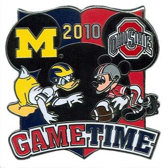 Disney Game On Pin 2010 Michigan At Ohio State