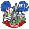 Disney Characters With Cinderella Castle Pin - Daisy Duck