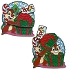 Disney Holidays Around The World Pin - 2010 Chip 'n Dale Present