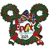 Disney Holidays Around The World Pin - 2010 D23 Exclusive