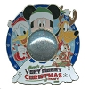 Disney Very Merry Christmas Party Pin - 2010 Jumbo Snowglobe