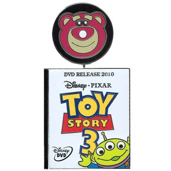 Disney Toy Story Pin - Toy Story 3 - DVD Release
