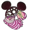Disney Mickey Mouse Icon w/ Character Pin - Cheshire Cat
