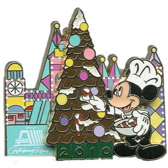 Disney Christmas Pin - Gingerbread House 2010 - Contemporary Resort
