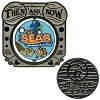 Disney Then And Now Pin - Living Seas to The Seas with Nemo & Friends