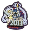 Disney Annual Pin - 2011 Cinderella Castle - Tinker Bell