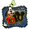 Disney White Glove Pin - Dated 2010 - Goofy