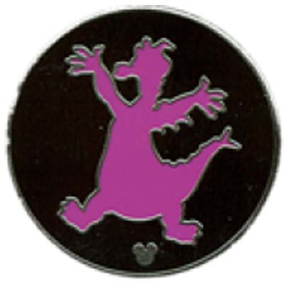 Disney Hidden Mickey Pin - Figment Parts - Silhouette