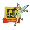 Disney Tinker Bell Pin - Walt Disney World 40th Anniversary