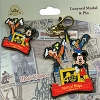 Disney Lanyard Medal and Pin Set - 40th Anniversary - Mickey and Pals