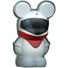 Disney vinylmation Magnet - 3D - Monorail Red