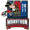 Disney 2011 Marathon Pin - Mickey Mouse Race Ribbon