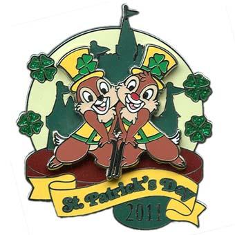 Disney st patrick 39 s day pin 2011 chip 39 n dale - Disney st patricks day images ...