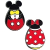 Disney Easter Pin - Easter 2011 - Mickey and Minnie Icon Easter Eggs