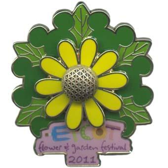 Epcot\u00ae Flower and Garden Festival 2011 Pin 83039 WDW Logo