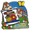 Disney Flower & Garden Festival Pin - 2011 Chip 'n Dale