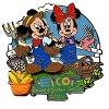 Disney Flower & Garden Festival Pin - 2011 Mickey and Minnie