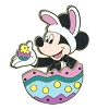 Disney Easter Pin - Mickey Mouse in Easter Egg
