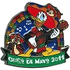 Disney Cinco De Mayo Pin - 2011 - Donald Duck Chip n Dale