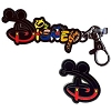 Disney Lanyard Medal and Pin Set - Disney Character Letters