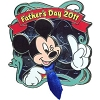 Disney Father's Day Pin - 2011 Mickey Mouse