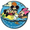 Disney First Day of Summer Pin - 204H1 Mickey and Minnie Mouse