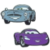 Disney Pixar's Cars 2 Pin Set - Finn McMissile and Holley Shiftwell