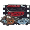 Disney Pixar's Cars 2 Pin - Opening Day - Mater and Finn McMissile