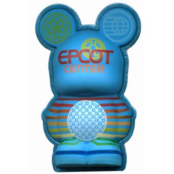 Disney vinylmation Pin - 3D - Epcot