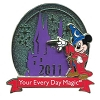 Disney Visa Pin - 2011 - Sorcerer Mickey