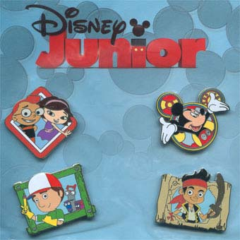 Disney Booster Pin Collection - Disney Junior