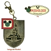 Disney Florida Project Pin and Medal - Building the Dream - Passholder