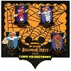 Disney Mickey's Not So Scary Halloween Party 4 Scarecrow Pin Set