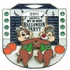 Disney Mickey's Not So Scary Halloween Party Pin - 2011 Chip 'n Dale