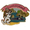 Disney 40th Anniversary Pin - Magic Kingdom - Fantasyland Goofy
